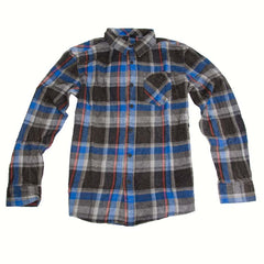 Element Broome Men's Collared Shirt - Cyan - Small