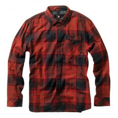 Element Keystone Men's Collared Shirt - Red - Large