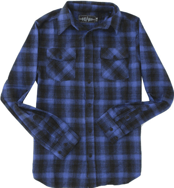 Emerica Hombre L/S - Navy - Men's Flannel