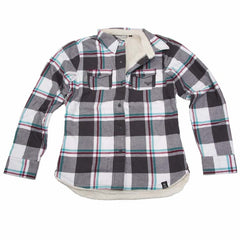 Roxy Plaidster TShirt - Dark Grey