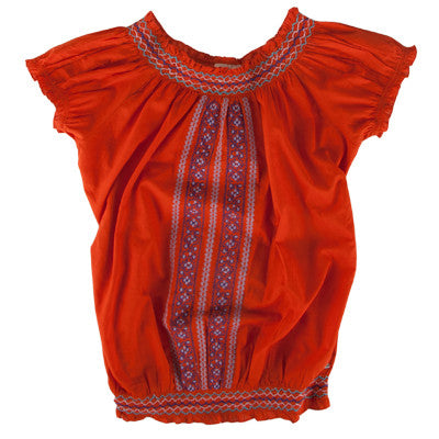Roxy Scorpio Spicy Women's Shirt - Orange - Large