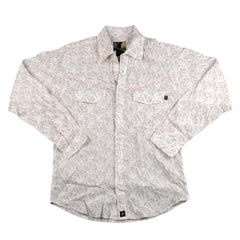 Planet Earth Birds&Trees Men's Collared Shirt - Earth