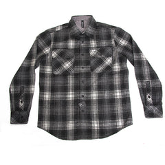 RVCA Old Harper - Black - Men's Collared Shirt
