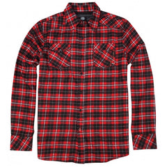 686 Logger Men's Collared Shirt - Red - Small