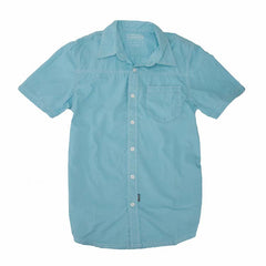 Underground Products Mondays Men's Collared Shirt - Blue