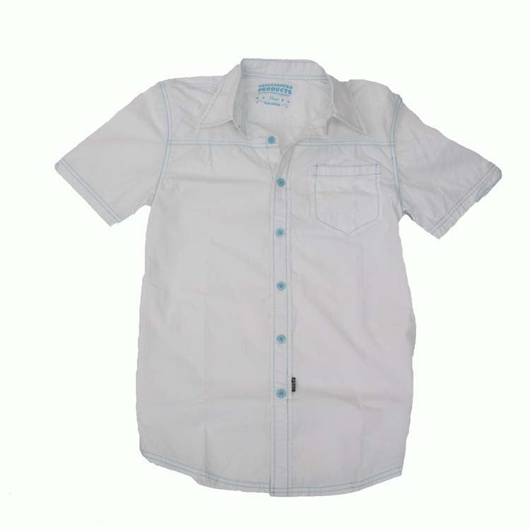 Underground Products Mondays Men's Collared Shirt - White