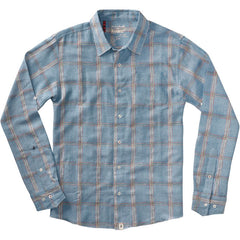Altamont Wailer Men's Collared Shirt - Blue - Large