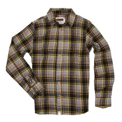 Altamont Burnnout Men's Collared Shirt - Grey - Large