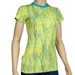 Nomis Grace Sunny Women's T-Shirt - Lime