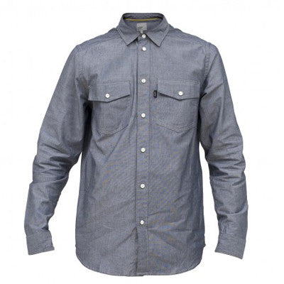 WeSC Udo Men's Collared Shirt - Mechanical Blue - Extra Large