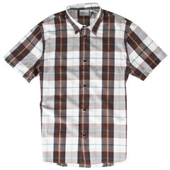 WeSC Sergio Men's Collared Shirt - Roasted Coffee - Large