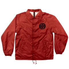Independent AXIOM Coach Windbreaker Men's Jacket - Red