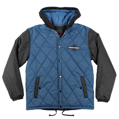 Independent League Hooded Puffy - Navy/Black - Men's Jacket