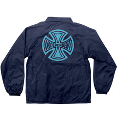Independent Subdue Coach Windbreaker Men's Jacket - Light Navy