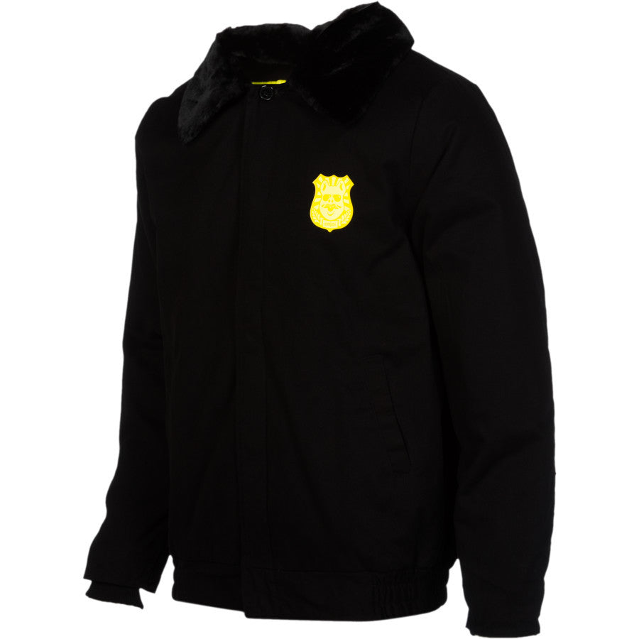 Enjoi Johnny Law Jacket - Black - Large