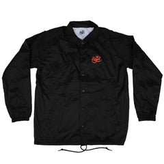 Royal Crown Script Coach Men's Jacket - Black