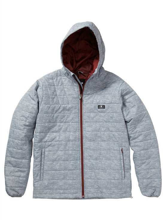 DC Bolinas Men's Jacket - Heather Grey