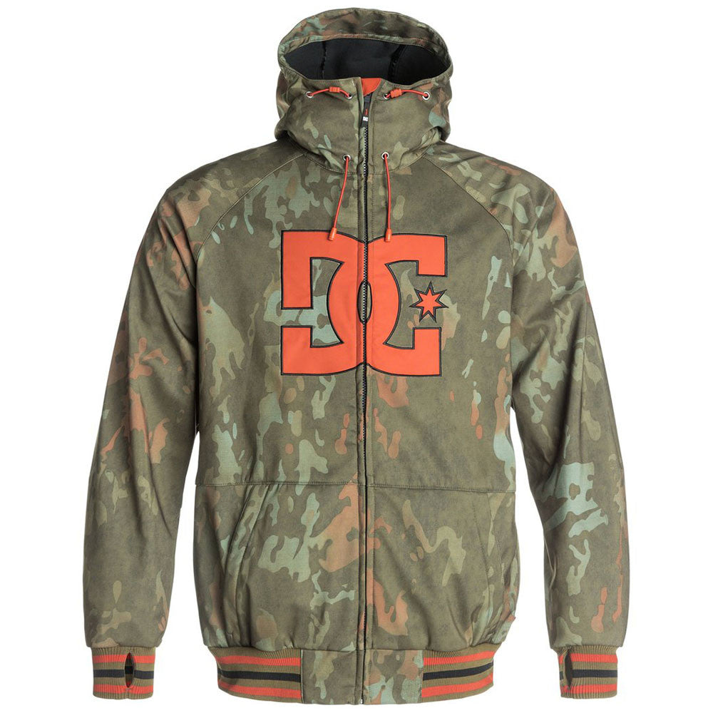 DC Spectrum Men's Jacket - Military Olive CQW6