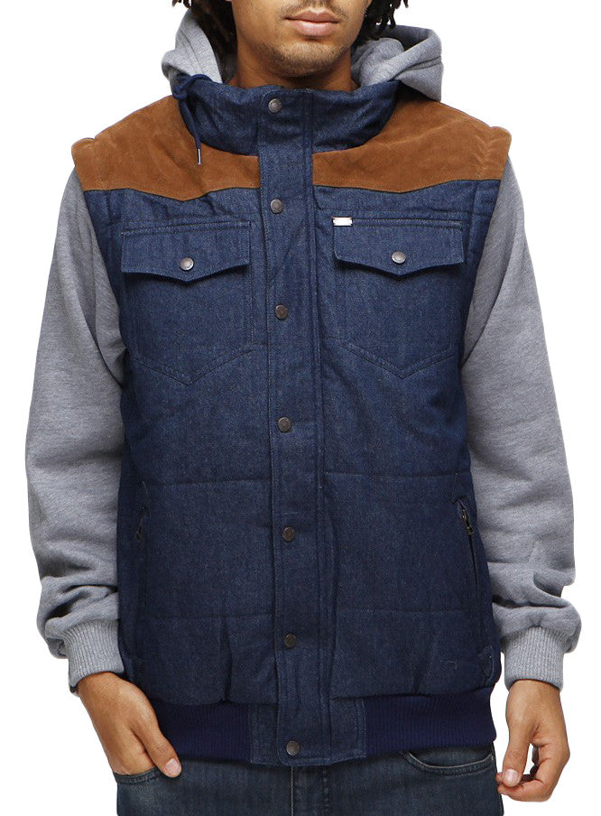 Globe Kilburn Jacket - Indigo - Medium