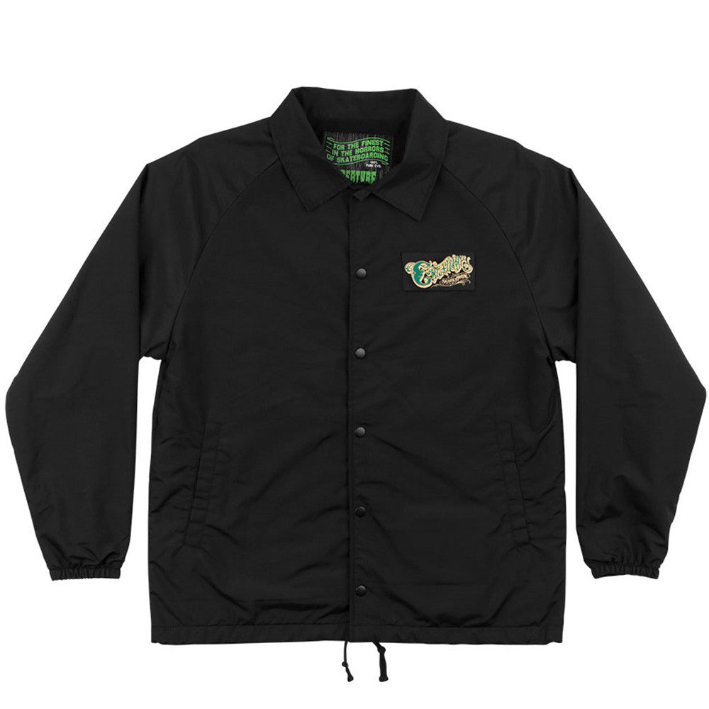 Creature The Creeper Coach Windbreaker Men's Jacket - Black