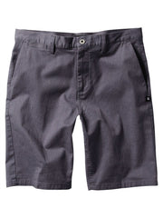 DC Straight Chino Men's Shorts - Heather DC Navy