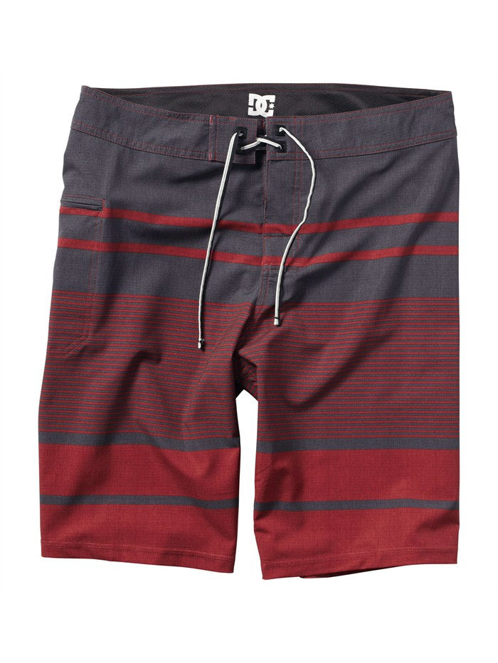 DC Chronicle Men's Boardshorts - Deep Red