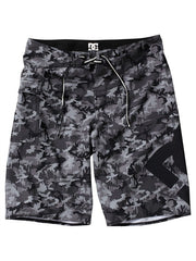 DC Lanai Essential 4  Men's Boardshorts - Black Camo - Size 34