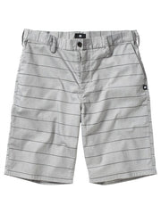 DC Worker Men's Shorts - Pewter Stripe