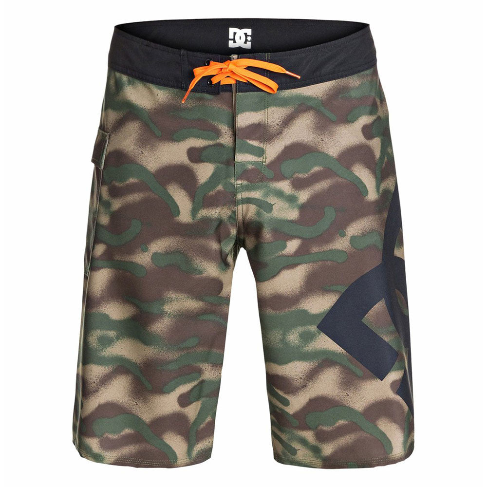 "DC Lanai 22"" Men's Shorts - Cadmium Green GSH2"