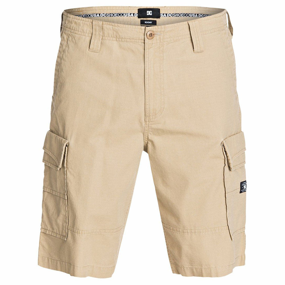 "DC Ripstop Cargo 22"" Men's Shorts - Chinchilla TKY0"