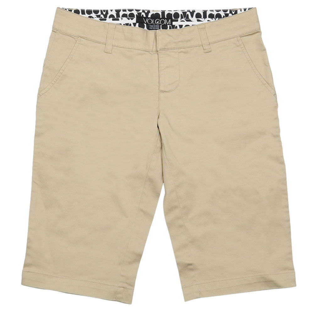 "Volcom Basix Loaded 13"" Women's Shorts - Khaki"