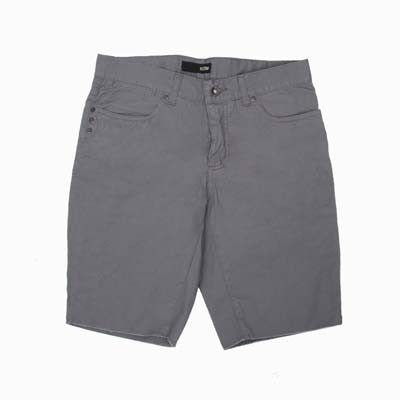 KR3W Canvas Cut Off Men's Shorts - Grey - Size 30