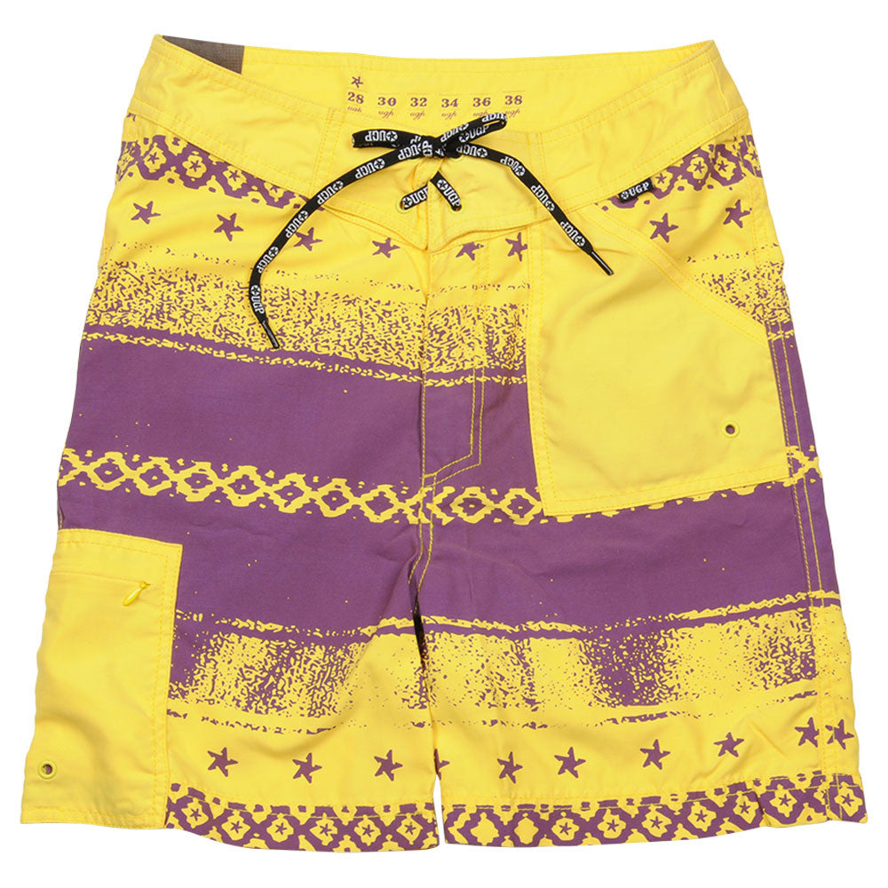 Underground Products Short Que Onda Men's Shorts - Yellow - Size 28