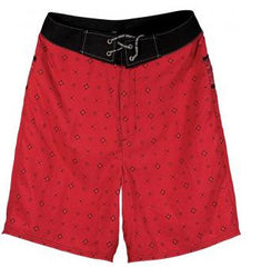 Underground Products Deuce Men's Boardshorts - Red - Size 28