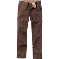 Enjoi Boo Men's Slim Straight Khaki Pants - Brown