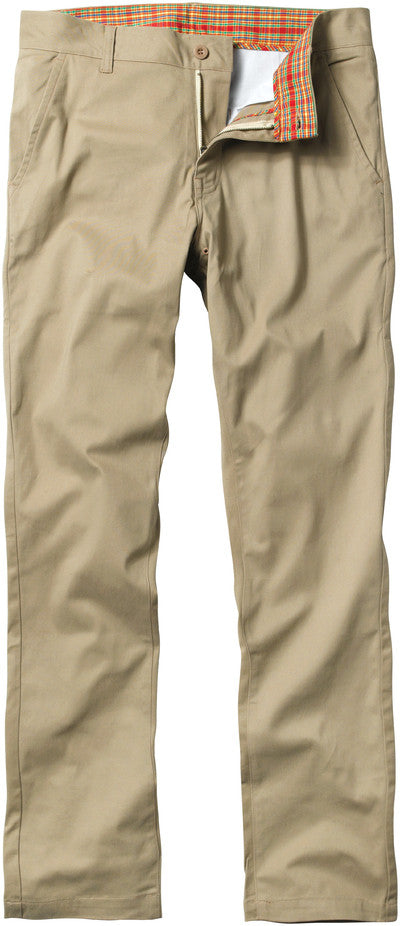 Enjoi Boo Slim Chino Khaki Pants - Khaki - Men's Pants