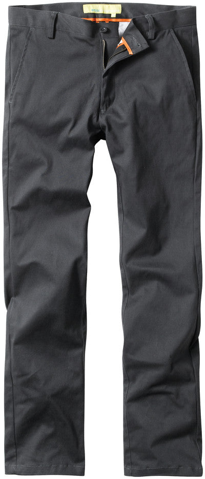 Enjoi Boo Khaki Slim Straight - Dark Charcoal - Men's Pants