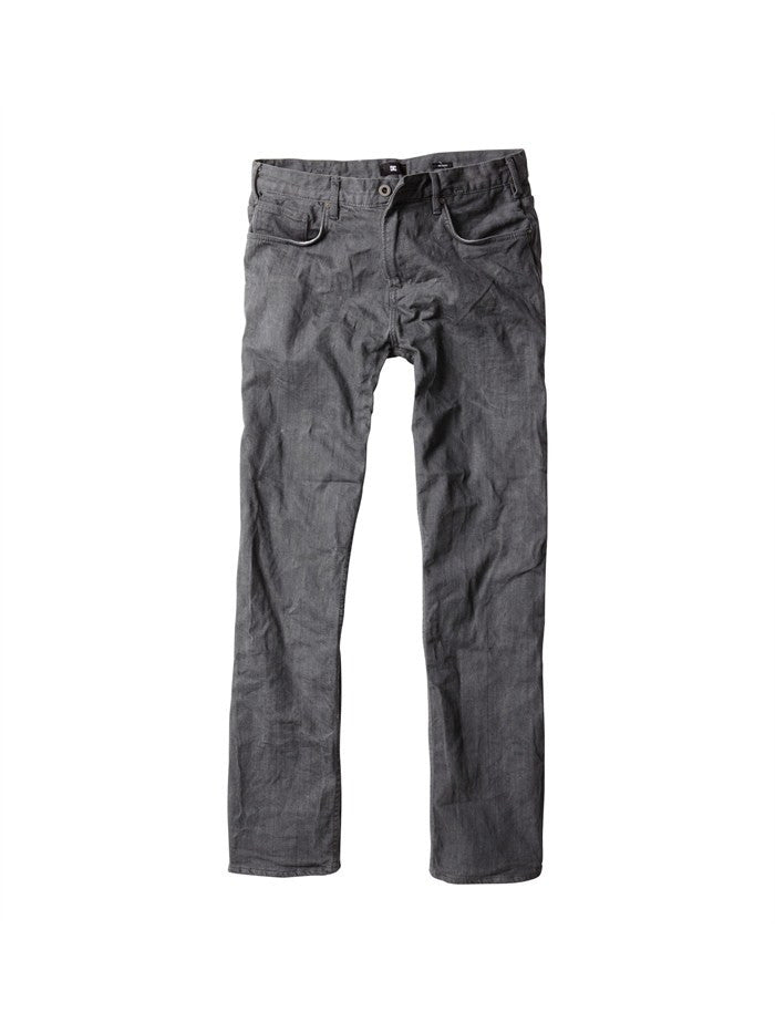 DC Relaxed Fit Jeans - Grey Rinse - Men's Pants