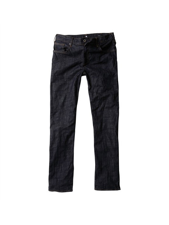 DC Men's Straight Fit Jeans - Indigo Rinse - Size 34x32