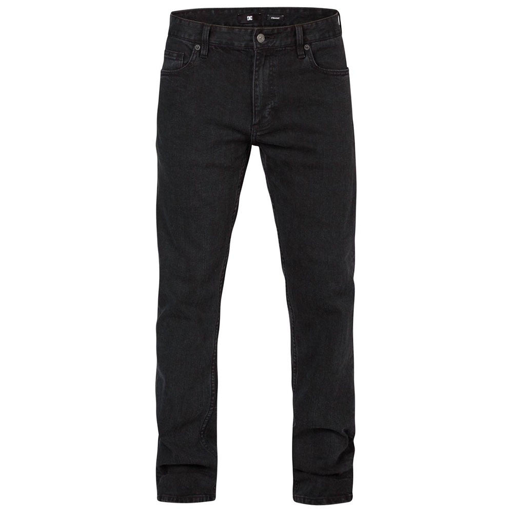 DC Worker Slim Washed Men's Pants - Pirate Black KTEW