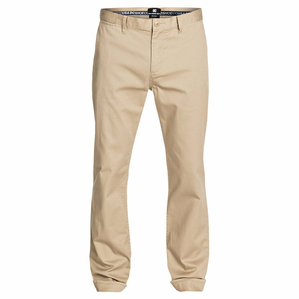 DC Straight Chino Men's Pants - Chinchilla TKY0