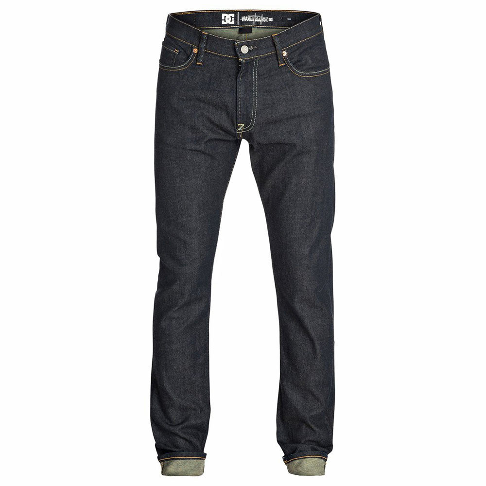 DC Taylor Oxnard Men's Pants - Heavy Resin Dark Indigo KTPW