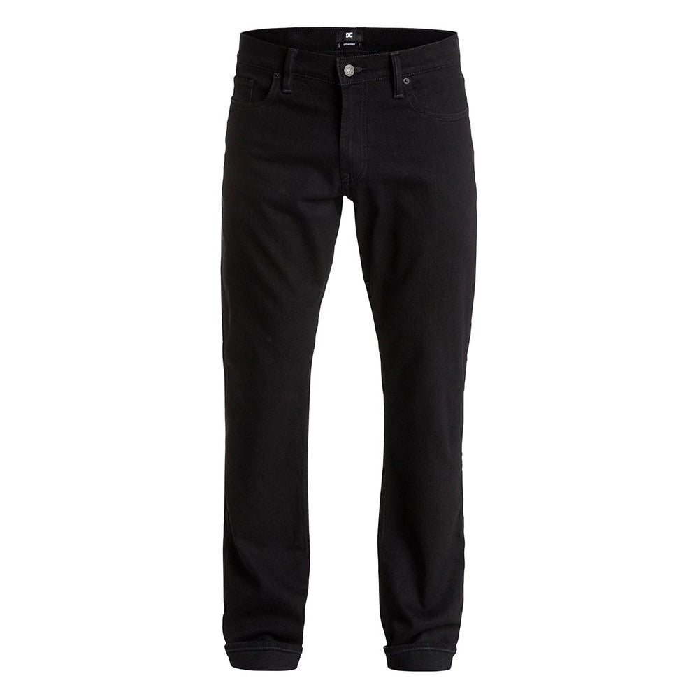 DC Worker Straight Fit Men's Pants - Jet Black KVDW