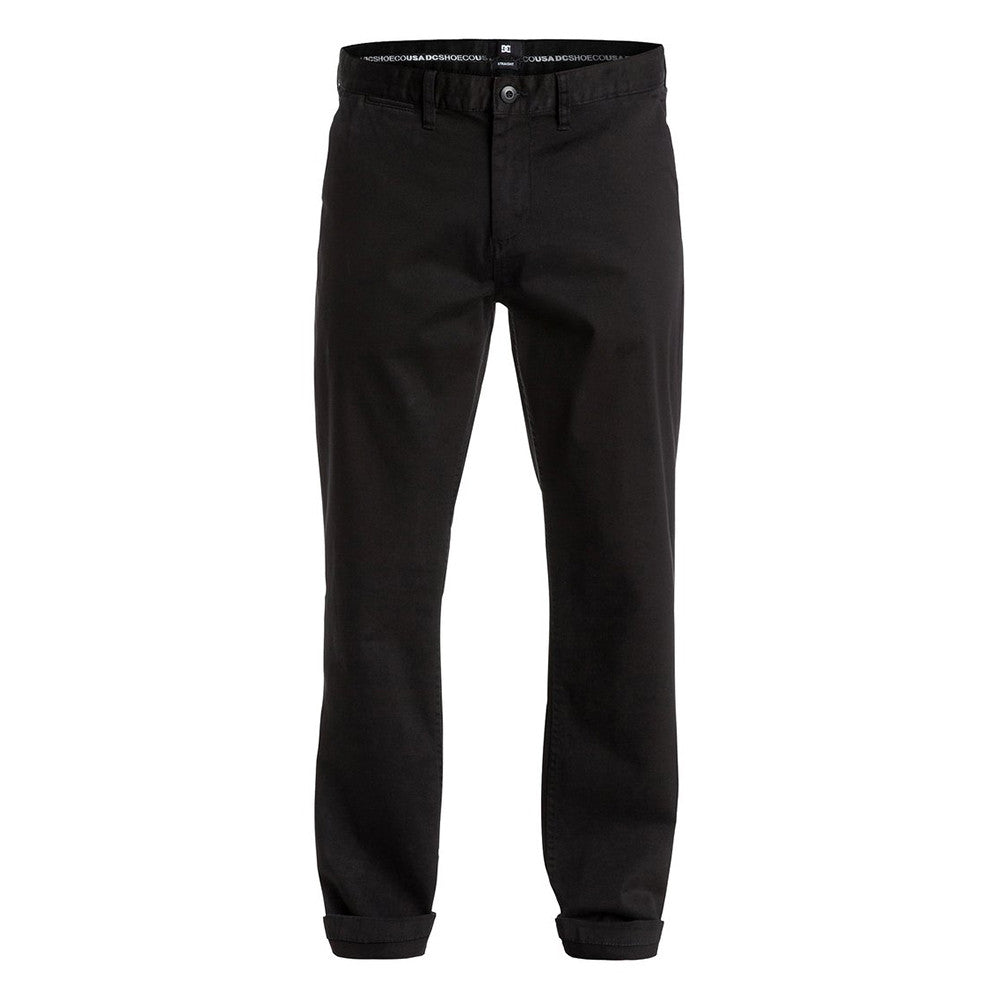 DC Worker Straight Fit Men's Pants - Anthracite KVJ0