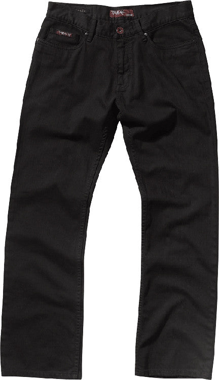 Etnies Taylor Team Men's Relaxed Jeans - Black - Size 28x30