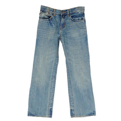 Fox Duster Youth Jeans - Blue