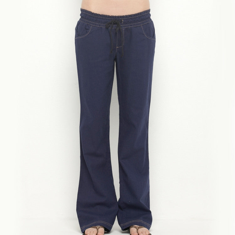 Roxy Take It Easy Women's Pants - Navy - Medium