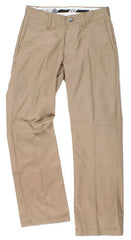 Volcom Frickin Men's Solid Chino Pants - Khaki - Size 28