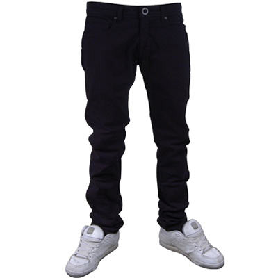 Volcom 2x4 Overdyed - Black - Youth Pants