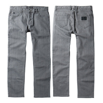 Fallen Straight Fit Men's Pants - Grey - Size 28